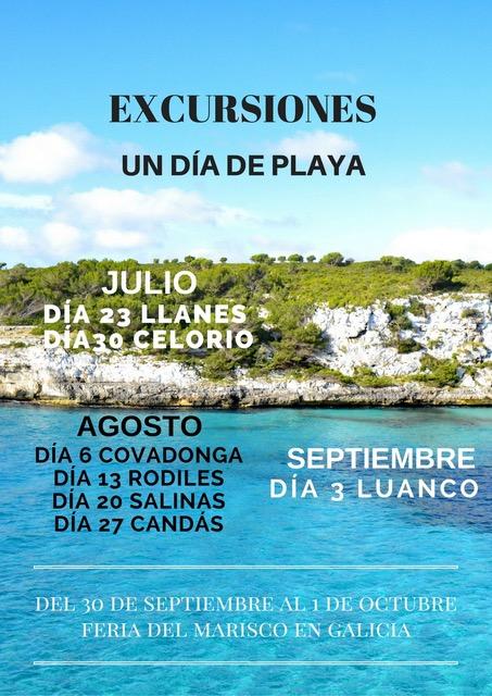Excursiones | Un día de Playa